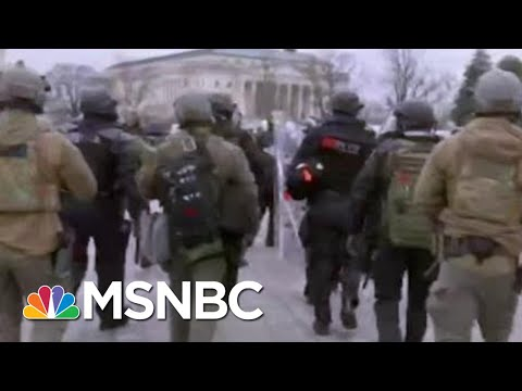 One Person Shot Inside The US Capitol By A Member Of Law Enforcement | MTP Daily | MSNBC