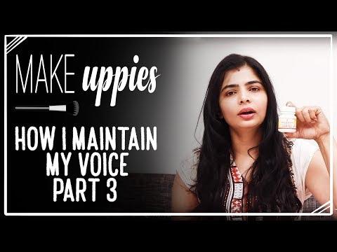 How I Maintain My Voice - Part 3 | Chinmayi Sripada