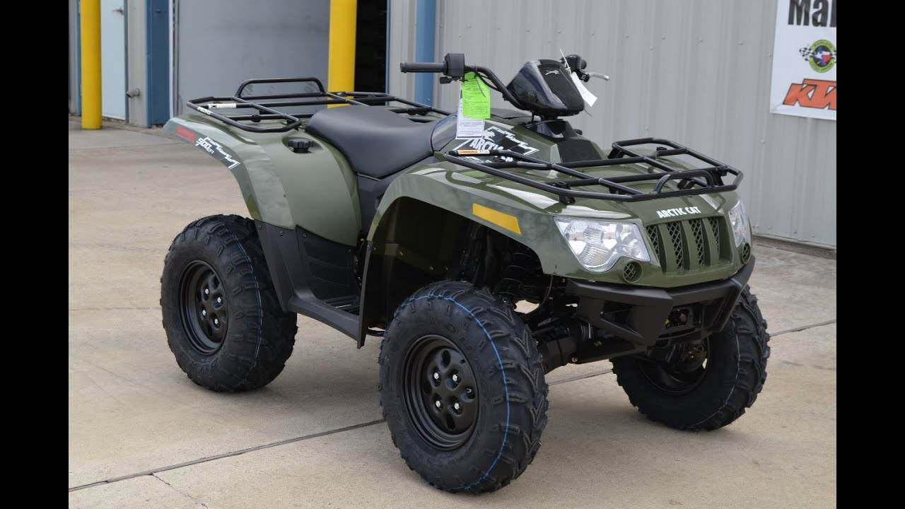 $6,499: 2015 Arctic Cat 500 4X4 Overview and Review!  YouTube