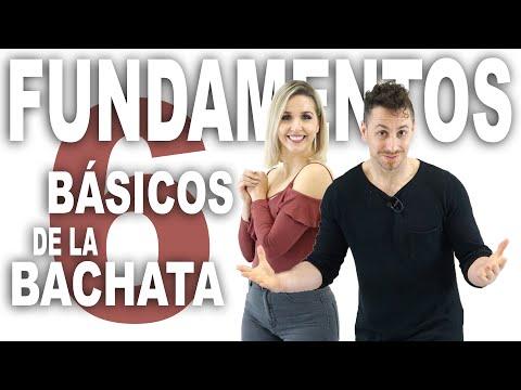 6 Pasos básicos de BACHATA | Como bailar bachata en pareja | Aprende a bailar con Alfonso y Mónica