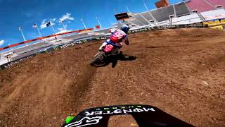 GoPro: Adam Cianciarulo - 2020 Monster Energy Supercross - 450 Heat Race Highlights - Salt Lake City