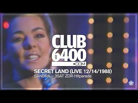 Sandra - Secret Land (LIVE 3SAT ZDF-Hitparade 12/14/1988) - CLUB 6400 - 80s Music