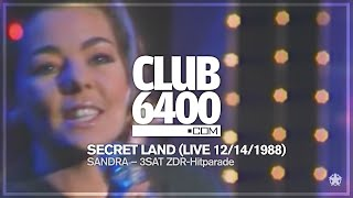 Sandra - Secret Land (LIVE 3SAT ZDF-Hitparade 1987) - CLUB 6400 - 80s Music