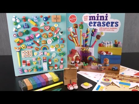 Make Your Own Mini Erasers from Klutz