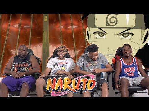 Naruto Meets The 9 Tailed Fox Naruto 55 & 56 REACTIONREVIEW