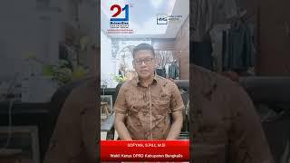 Ucapan Selamat Ulang Tahun Haluan Riau ke-21 dari Wakil Ketua DPRD Kabupaten Bengkalis