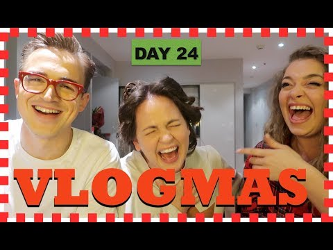 VLOGMAS DAY 24: Making Up a Festive Poem