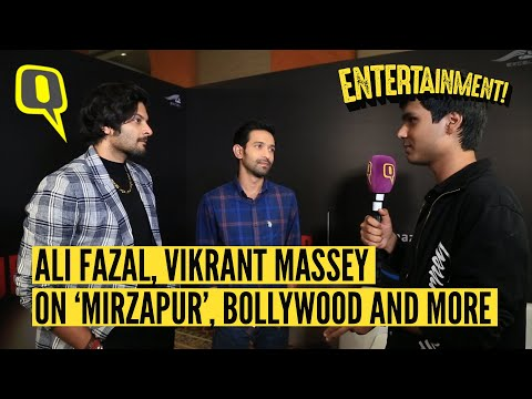 Ali Fazal, Vikrant Massey on working in 'Mirzapur', their Bollywood careers.