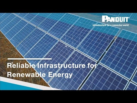 Reliable Infrastructure For Renewable Energy