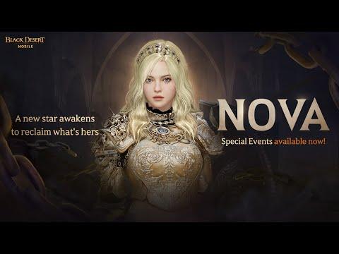 """New Class Trailer: """"Nova"""" [Black Desert Mobile]"""