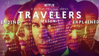 Netflix Travelers Season 1 Explained in HINDI | Part-1 | Ending Explained | Sci-fi |