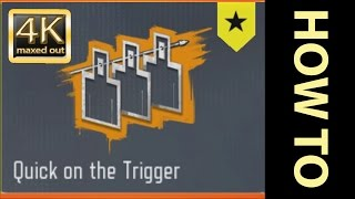 COD: Black Ops 3 - Quick on the Trigger Accolade