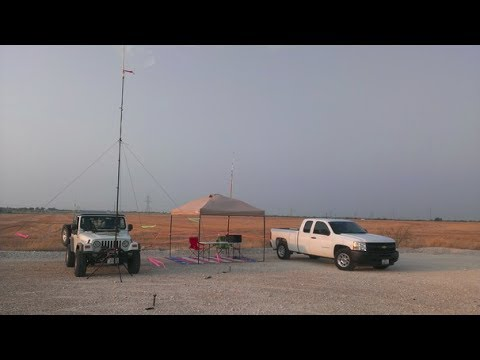 Dbj 1 Ham Antenna By Ed Fong Wb6iqn Dual Band Wire J Pole