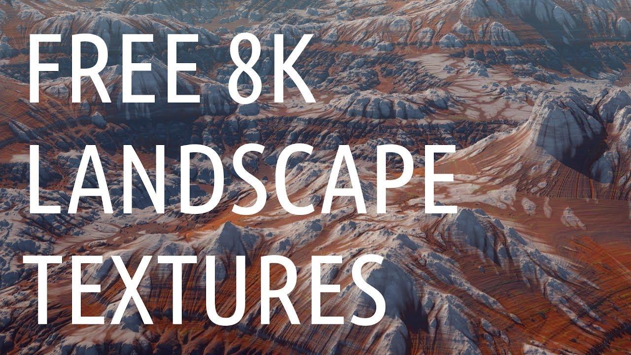 Freebie: Textures: Free 8K Landscape Pack - Toolfarm