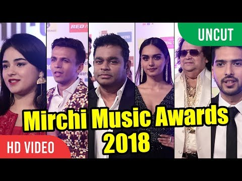 UNCUT - Mirchi Music Awards 2018 FullEvent | A.R Rahman, Man