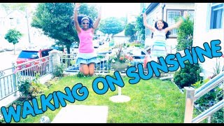Walking On Sunshine -  Aly & Aj (Music Video)