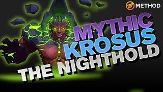 Method vs Krosus - Nighthold Mythic