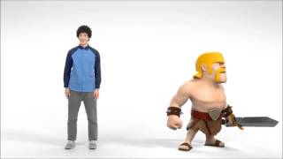 Afro Asian Kid V.S. Barbarian