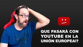 En problemas Youtube en la Unión Europea