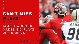 Jameis Winston Makes Big Plays on TD Drive!