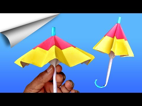 Umbrella Paper Craft | | DIY crafts | How to make minute crafts for kids | easy origami