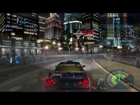 Need For Speed Underground 1 Gameplay (PC)