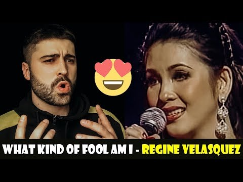 FIRST TIME REACTION To Regine Velasquez - What Kind Of Fool Am I (SHE'S THE QUEEN!)