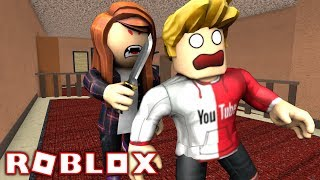 ROBLOX FUNNY MOMENTS in MM2 w/ TheHealthyFriends