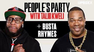 Talib Kweli & Busta Rhymes Talk ELE: 2, J Dilla, Q-Tip, Kendrick, 5% & Chuck D | People's Party Full