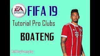 Fifa 19 | Tutorial face Jérôme Boateng - Bayern München | Pro clubs