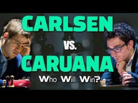 Carlsen-Caruana Tiebreaks - 2018 FIDE World Chess Championship ( lichess.org )
