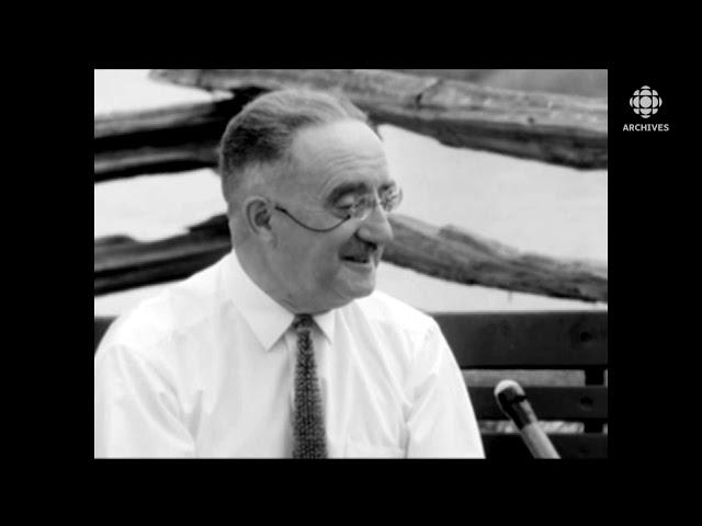 L'Upper Canada Village expliqué par l'historien Séraphin Marion en 1963