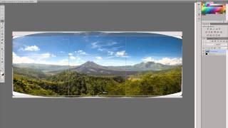 Обработка пейзажа (панорама). Landscape retouching (panorama)