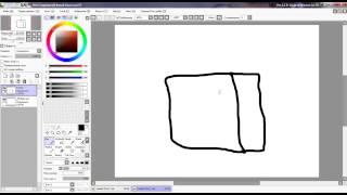 SAI Видео урок №1 Рисуем голову