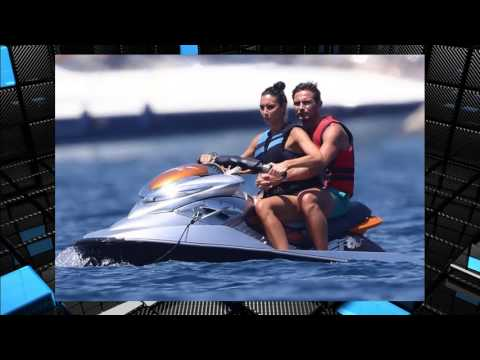 Christine Bleakley and hubby Frank Lampard have joined the jet ski set on luxury holiday