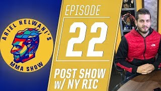 UFC Argentina recap, Chuck vs. Tito 3 preview, more | Ariel Helwani's MMA Post-Show: Episode 22