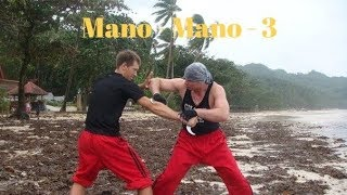 Уроки Филиппинского Бокса :  3-е Mano-Mano Panantukan
