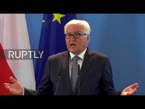 Germany: We need 'better EU' post-Brexit, says Steinmeier at Weimar Triangle meeting