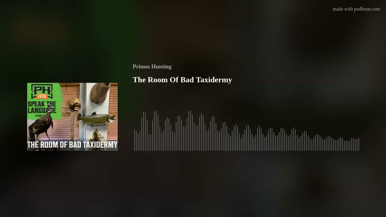 The Room Of Bad Taxidermy