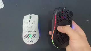 Chuột Gaming không dây Dây XUNFOX XYH80  2.4G Pin sạc  3200DPI LED RGB 16,8 Triệu Màu 7 Phím Macro