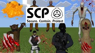 SCP Foundation Addon All New SCP's In Minecraft