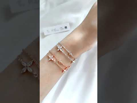 Lucia Double-Chained Bracelet video 2