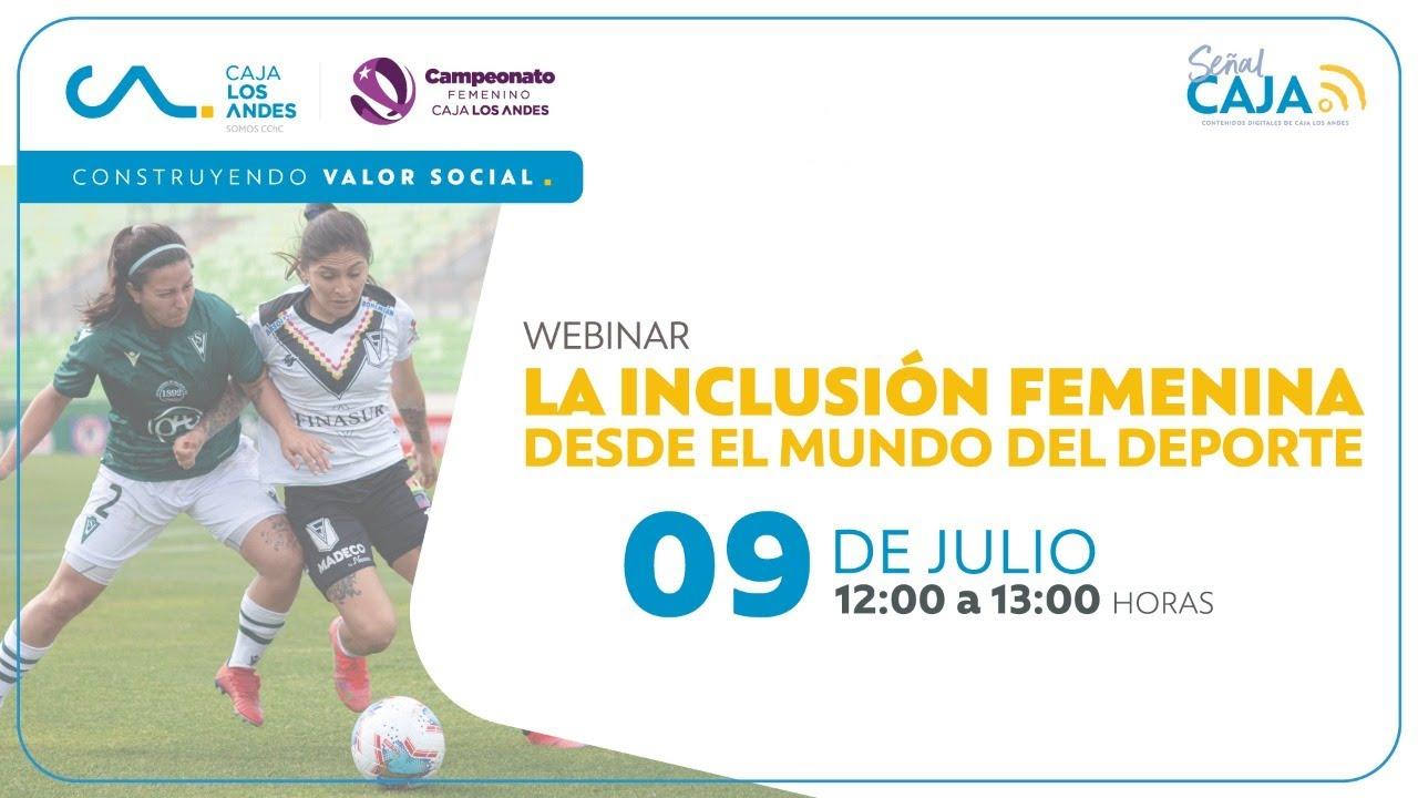"""#SeñalCaja: La inclusión femenina desde el mundo del deporte"""""""