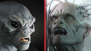 Реальные Инопланетяне Снятые На Камеру (пришельцы и гуманоиды) часть 4