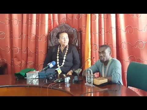 Guyana's Commonwealth Gold Medalist speaks in Guyana