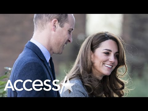 Kate Middleton And Prince William Share Rare PDA Moment