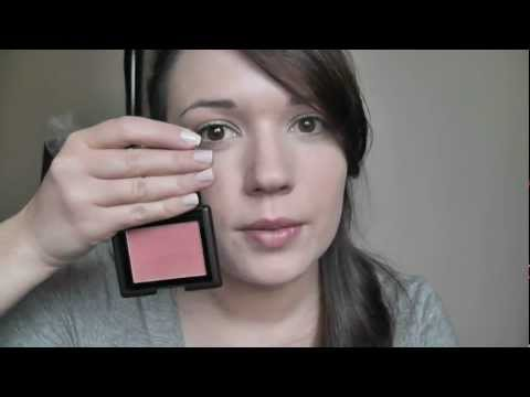 Make-up For Beginners - How to Pick Blusher and Apply Blush Step 8