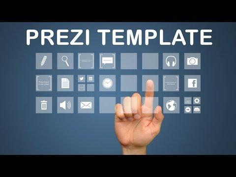 Interactive Media - Prezi Template