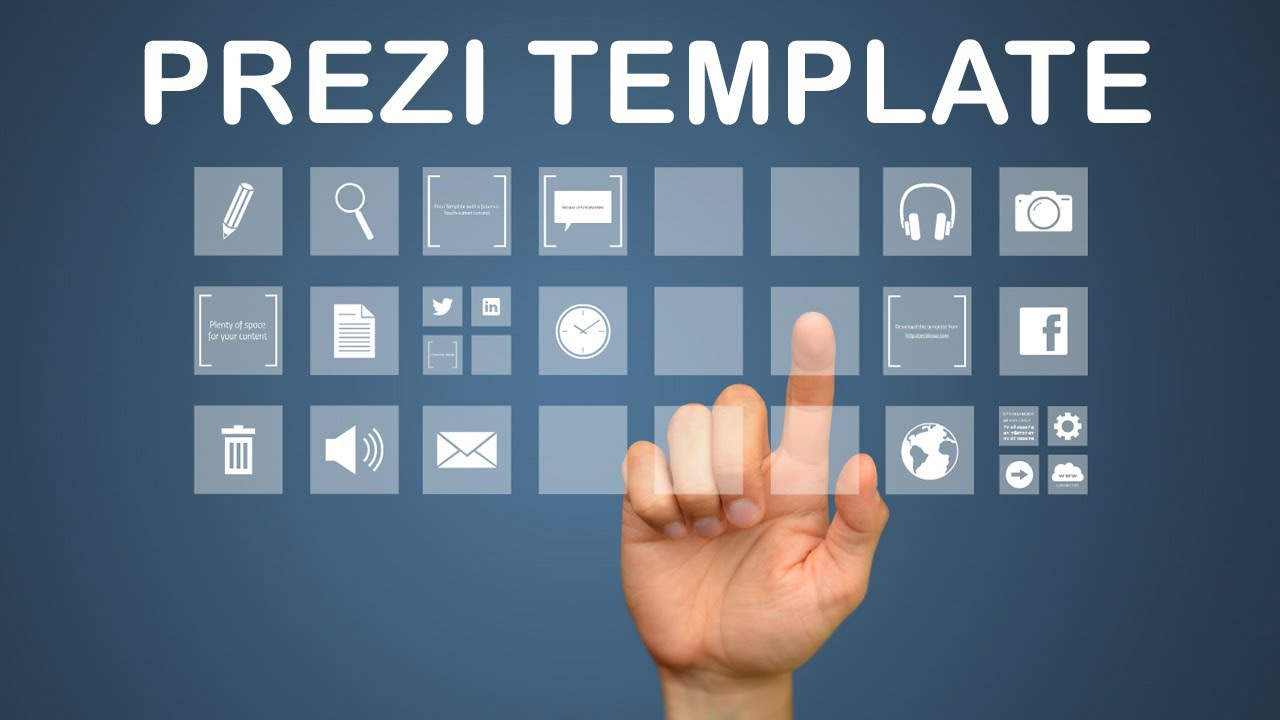 Interactive media prezi template youtube for How to download prezi templates
