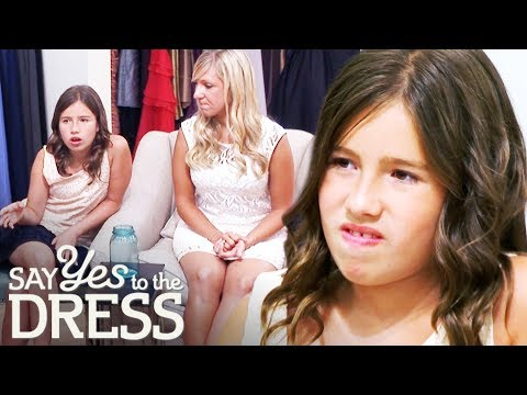 Bride's 12 Year Old Sister Tries To Influence The Dress Decision | Say Yes To The Dress Bridesmaids